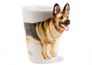 German Shepherd Coffee Mug-0
