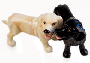 Labrador Yellow & Black Pepper and Salt Set-0