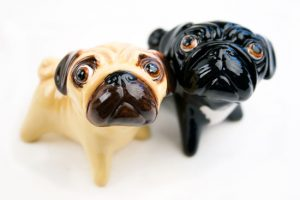 Pug Pepper and Salt Set-0