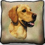 Golden Retriever – Tapestry Cushion Cover-0