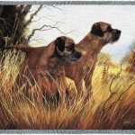Border Terrier – Tapestry Throw-0