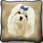 Maltese - Tapestry Cushion Cover-0
