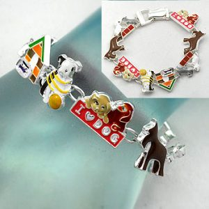 Bracelet with Dogs Theme--0