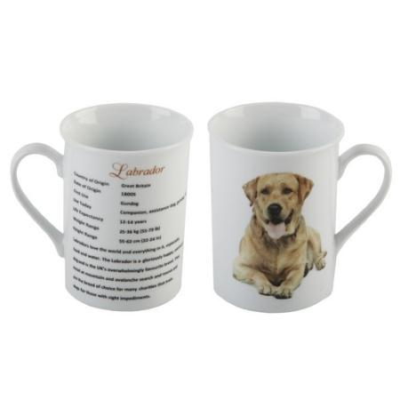 Labrador (Yellow)- Best of Breed China Mug-0