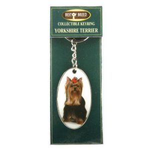 Yorkshire Terrier - Best of Breed Keyring-0