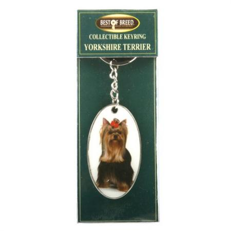 Yorkshire Terrier – Best of Breed Keyring-0