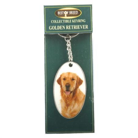 Golden Retriever Best of Breed Keyring-0