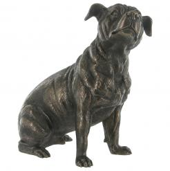 Staffordshire Bull Terrier – Cold Cast Bronze-0