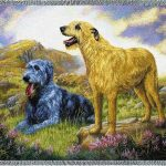 Irish Wolfhound - Tapestry Throw-0