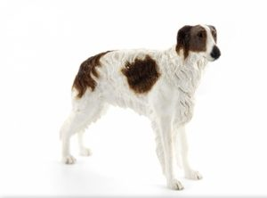Borzoi Dog Figurine-0