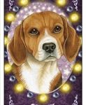 Beagle 3D Bookmark--0