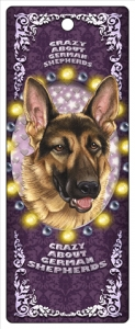 German Shepherd 3D Bookmark--0
