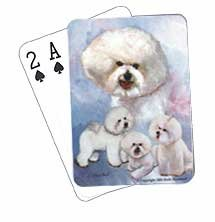 Bichon Frise - Deck of Playing Cards-0