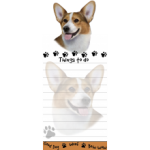 Welsh Corgi Magnetic Memo Pad-0