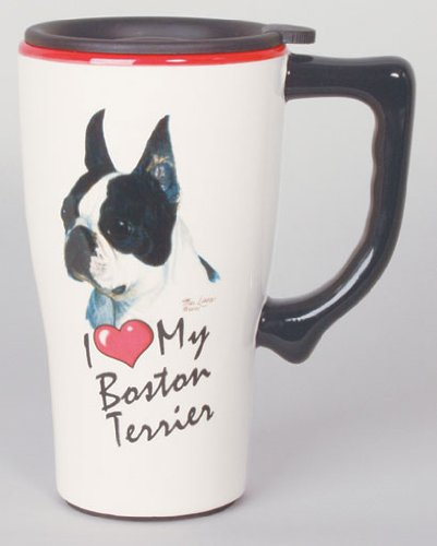Boston Terrier – Ceramic Travel Mug-0