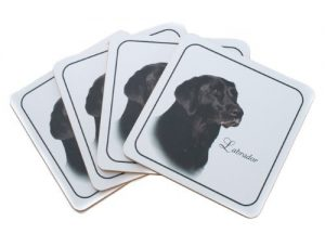 Black Labrador - Best of Breed Coasters-0