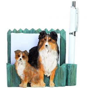 Shetland Sheepdog Memo Holder-0