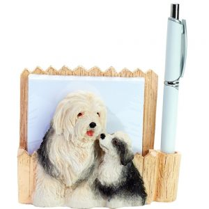 Old English Sheepdog Memo Holder-0