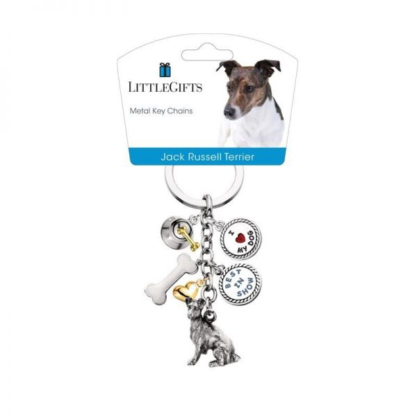 Jack Russell – Charm Keychain-0