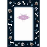 Give the Dog a Bone - 5 Photo Frame Cards Pack-0