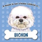 Bichon Fridge Magnet-0