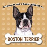 Boston Terrier Fridge Magnet-0