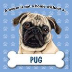 Pug - Fridge Magnet-0