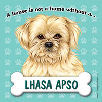 Lhasa Apso - Fridge Magnet-0