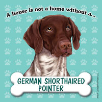 German Shorthaired Pointer Fridge Magnet-0