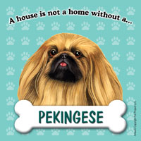 Pekingese Fridge Magnet-0