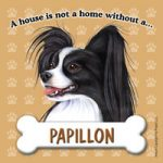 Papillon - Fridge Magnet-0