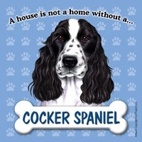 Cocker Spaniel - Fridge Magnet-0