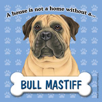 Bullmastiff Fridge Magnet-0