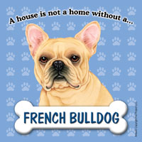 French Bulldog Fridge Magnet-0