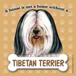 Tibetan Terrier Fridge Magnet-0