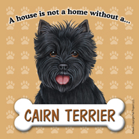 Cairn Terrier - Fridge Magnet-0