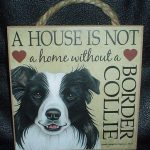 Border Collie- Hanging Sign-0