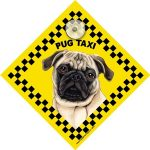 Pug (taxi) Suction Sign-0