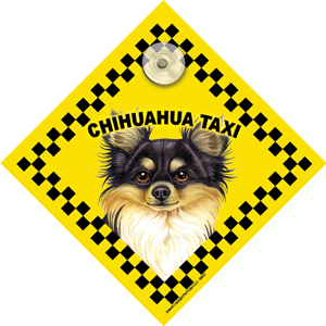 Chihuahua (taxi) Suction Sign-0