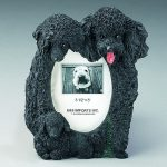 Poodle (Black) Photo Frame-0