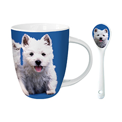 West Highland Terrier Hot Chocolate Mug-0