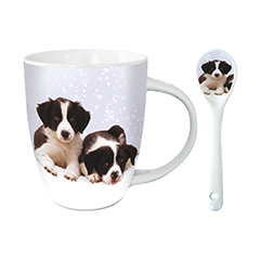 Border Collie Hot Chocolate Mug--0