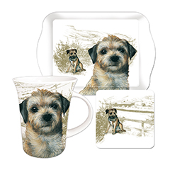 Border Terrier - Teatime Gift Set-0