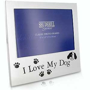 I Love My Dog - Classic Photo Frame-0