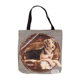 Airedale – Tapestry Tote bag-0