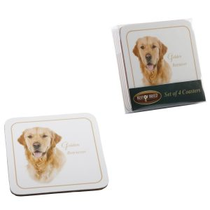 Golden Retriever - Best of Breed Coasters-0