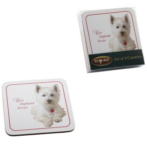West Highland Terrier - Best of Breed Coasters-0