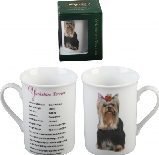 Yorkshire Terrier – Best of Breed China Mug-0