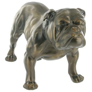 Bulldog - Cold Cast Bronze-0