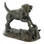 Jack Russell – Cold Cast Bronze-0